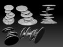 AntiMatter Games 3d Print Kickstarter Giant Tiered Fungal Tree Preview