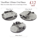 TW Titan Wars Resin Bases 8