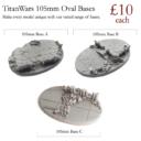 TW Titan Wars Resin Bases 9