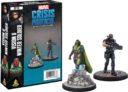 AMG Marvel Crisis Protocol Vision Winter Soldier Marvel Crisis Protocol