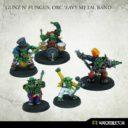 Kromlech Gunz N' Fungus, Orc 'Eavy Metal Band 1