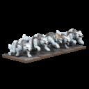 MG Mantic Games Kings Of War Tundra Wolves Troop