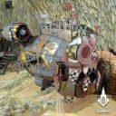 Tabletop Scenics Orc Minelayer Craft 6