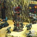Tabletop Scenics Orc Skull Trophy Rack 5