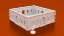 Corvus Games Terrain 3D Printable Halycon Terminal Objective Room For Infinity The Game Openlock Compatible X1400