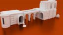 Corvus Games Terrain 3D Printable Star Wars Legion Desert Compound2 X1400