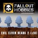 Fallout Hobbies Evil Elven Heads 2 (x10) 1