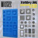 GSW Silikon Texturplatten Industrienetze Und Ventilatoren 1