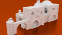 Corvus Games Terrain 3D Printable Pilgrim City Building Compound For Star Wars Legion 2 X1400