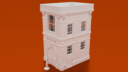 Corvus Games Terrain Firehouse STL