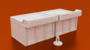 Corvus Games Terrain 3D Printable Sandwich Shop For Urban Games Like Fallout The Walking Dead This Is Not A Test Marvel Crisis Protocol X1400