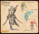 Fireforge Games Forgotten Worlds Elfen Ranger Concept Preview