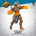 PiP Elemental Champions Monster Incinerus