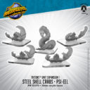 PiP Triton Units Steel Shell Crabs And Psi Eel