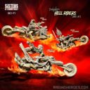 RH Hell Riders Daughters Box ERW #1