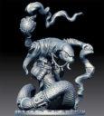 AntiMatter Games Snakeman Mystic And Elite Warrior Kickstarter Previews 1
