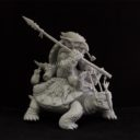 Cartoon Miniatures Turtle Rider2