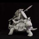 Cartoon Miniatures Turtle Rider3