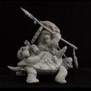 Cartoon Miniatures Turtle Rider5
