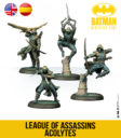 KnightModels Batman Miniature Game League Of Assassins Acolytes 01