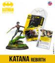 KM Batman Miniature Game Katana Rebirth English 1