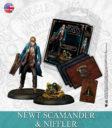 KM Harry Potter Miniature Game Newton Scamander & Niffler English 1