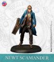 KM Harry Potter Miniature Game Newton Scamander & Niffler English 2