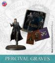 KM Harry Potter Miniature Game Percival Graves English 1