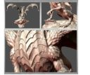 Lair Legendary Dragons 3D Printable Files For Miniatures 3