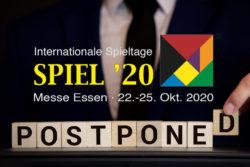 SPIEL 2020 Abgesagt