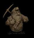 Spira Mirabilis Dwarf Miner Büste
