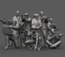 Klukva Miniatures Cyberpunk Agents
