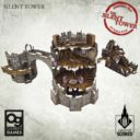 Tabletop Scenics Frostgrave Silent Tower 11
