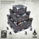 Tabletop Scenics Stepped Pyramid 5