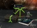 3D Alien Worlds Necrontyr Card Box 1