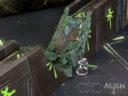 3D Alien Worlds Necrontyr Ruined Wall 3