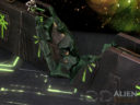 3D Alien Worlds Necrontyr Ruined Wall 4