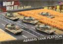 BF Team Yankee Abrams Tank Platoon (Plastic)
