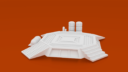 CorvusGamesTerrain3Dprintable15mmscifioutpostcompoundbuildingLandingPad X1400