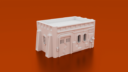 CorvusGamesTerrain3Dprintable15mmscifioutpostcompoundbuildingType1 X1400