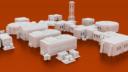 CorvusGamesTerrain3Dprintable15mmscifioutpostcompoundbuildings X1400