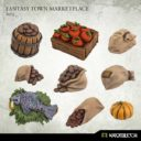 Kromlech Fantasy Town Marketplace Set 1 1