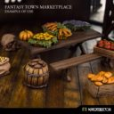 Kromlech Fantasy Town Marketplace Set 1 2