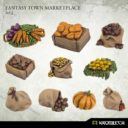 Kromlech Fantasy Town Marketplace Set 2 1