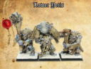 Lower Yetis By Shieldwolf Miniatures