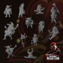MM Manifested Miniatures Reserve Roosters 13