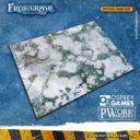 PWork Wargames Frostgrave Wargames Terrain Mat 9