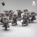 Reptilian Overlord Coven Squad STL Set 1