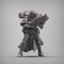 Reptilian Overlord Coven Squad STL Set 3