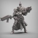 Reptilian Overlord Coven Squad STL Set 9
